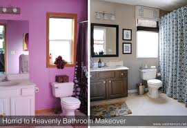 Bathroom Before And After by Horrid To Heavenly Master Bathroom Reveal Jenna Burger
