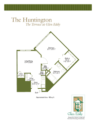 Huntington Floor Plan Floor Plans Of The Terrace At Glen Eddy Well Designed Assisted