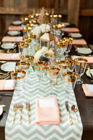 table deciding the beautiful design of table runners wedding