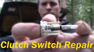 clutch switch repair youtube