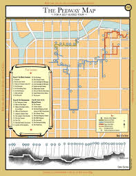 The L Chicago Map by Pedway Map