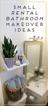 Small Bathroom Organization by Small Rental Bathroom Makeover Ideas Not A Passing Fancy Blog