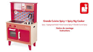 janod cuisine cuisine spicy janod notice de montage