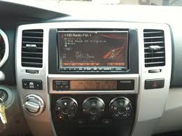toyota 4runner radio aftermarket radio backup and audio controls project