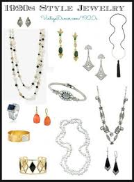 new 1920s costume jewelry earrings necklaces bracelets