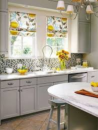 Designer Kitchen Curtains 14 Best Spring Kitchen Images On Pinterest Modern Kitchens