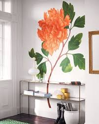 20 inspirational floral walls to bloom in your rooms brit co