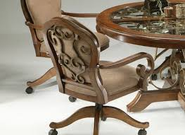 Kitchen Chairs Casters Furniture Caster Caster Chair Dining - Dining room chairs with rollers