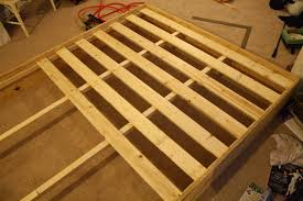 Build Platform Bed Queen by Diy Platform Bed Almost There And Living In Style View Along