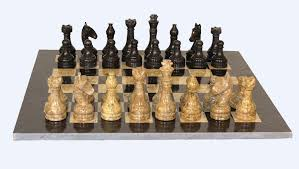 Buy Chess Set Buy Marble Chess Set With Black Frame Framed Marble Chess Board