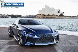 lexus lf lc vision gt michelin presents wallpaper wednesday lf lc concept at sydney