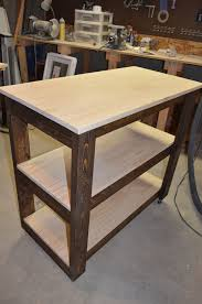 How To Build A Wood End Table by Bar Cart How To Make In 26 Diy Ways Guide Patterns