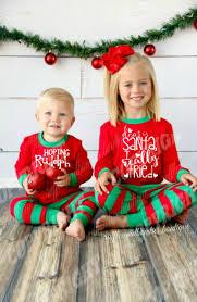 buy white green matching sibling pajamas