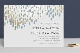 wedding invitations modern dash foil pressed wedding invitations by makewells minted