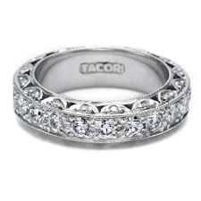 tacori wedding bands tacori ht2530 18 karat wedding band tq diamonds