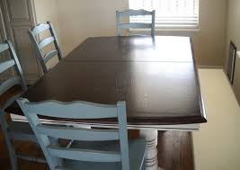 Refinish Dining Chairs Refinished Oak Table And Chairs Home Interiors