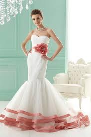 colorful wedding dresses ruche wedding wednesday colorful wedding dresses