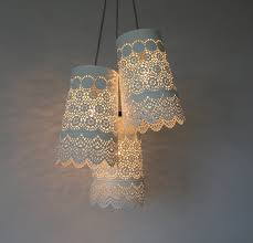Chandeliers Lighting Fixtures Baby U0027s Breath Chandelier Upcycled Hanging Pendant