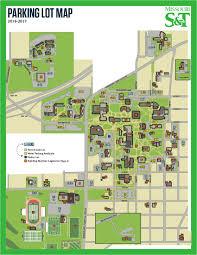 Map Missouri Missouri S U0026t Parking Lot Operations
