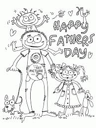 funny happy father u0027s day card coloring page for kids father u0027s day