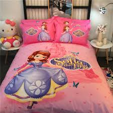 Sofia Bedding Set Pink Disney Sofia The 3d Printed Bedding Bedspreads Bed Sets