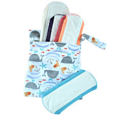 cloth sanitary pad starter kit highly absorbent bamboo cloth