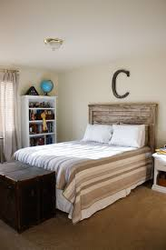 headboard handmade with old lumber would like it whitewashed
