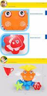 baby bath toys game children kids crab spray shower water spraying