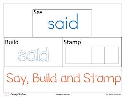 free worksheets preschool sight word worksheets free math