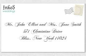 Wedding Invitations How To How To Address Wedding Invitations Redwolfblog Com