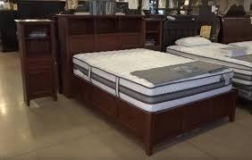 Storage Bed Whittier Wood Mckenzie Bookcase Storage Bed Review Youtube