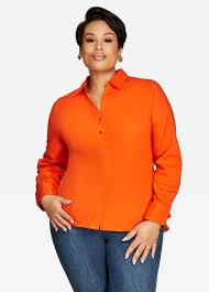 button blouses buy plus size button blouses stewart