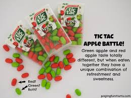 Where To Buy Minion Tic Tacs Tic Tac Apple Battle New Flavour Combination