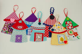 fabric ornaments sweet