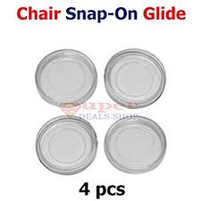 Patio Furniture Feet Inserts by 4 Pieces Snap On Table Leg Cup Feet Clear Vinyl Round Cup Insert