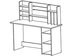 Schreibtisch Mit Computer Schreibtisch Mit Aufsatz Bürotisch Arbeitstisch Computertisch In