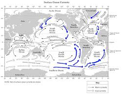 Ocean Currents Map Currents Cause Erosion U2014 Mr Mulroy U0027s Earth Science