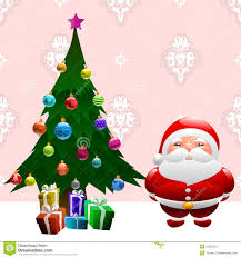 santa claus and christmas tree pictures christmas lights decoration