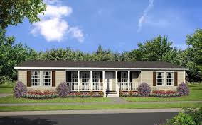 dutch 3256 elevation with recessed front porch modular homes