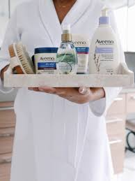 how i take care of my skin with aveeno ogx and ayurveda
