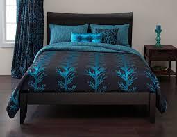 Black Comforter King Bedding Set Black And Turquoise Bedding Turquoise Bedding Set With