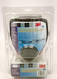 3m 68p71 low maintenance facepiece respirator medium each