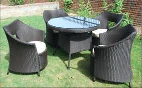 rattan dining room chairs ebay rattan table and chairs rattan outdoor garden table chairs rattan
