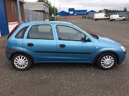 vauxhall corsa 2002 2002 vauxhall corsa 1 0 blue in larkhall south lanarkshire