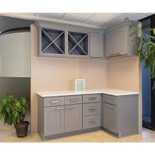blind corner kitchen cabinet home depot lifeart cabinetry lancaster shaker assembled 42x34 5x24 in