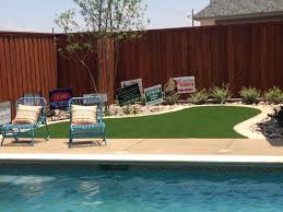 surround your pool with artificial turf golf greens texas