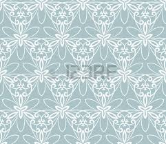 floral ornament seamless abstract classic blue and white pattern