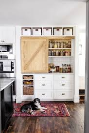 small storage cabinet with doors for kitchen 14 smart pantry door ideas types of pantry doors