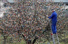 easter egg trees 10000 easter egg trees happy easter 2017