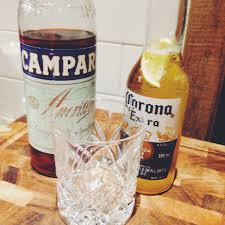 campari bottle now serving u2013 campari and corona the cocktail challenge